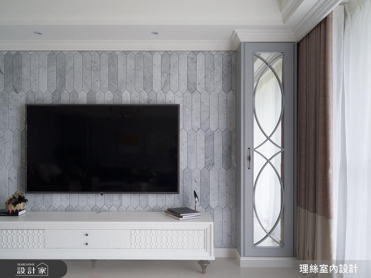 43坪新成屋(5年以下)_新古典客廳案例圖片_理絲室內設計有限公司_理絲_13之5