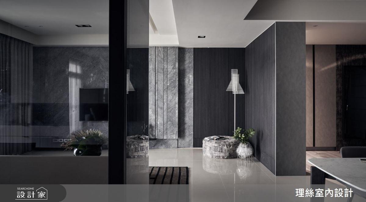 33坪新成屋(5年以下)_現代風客廳案例圖片_理絲室內設計有限公司_理絲_14之4