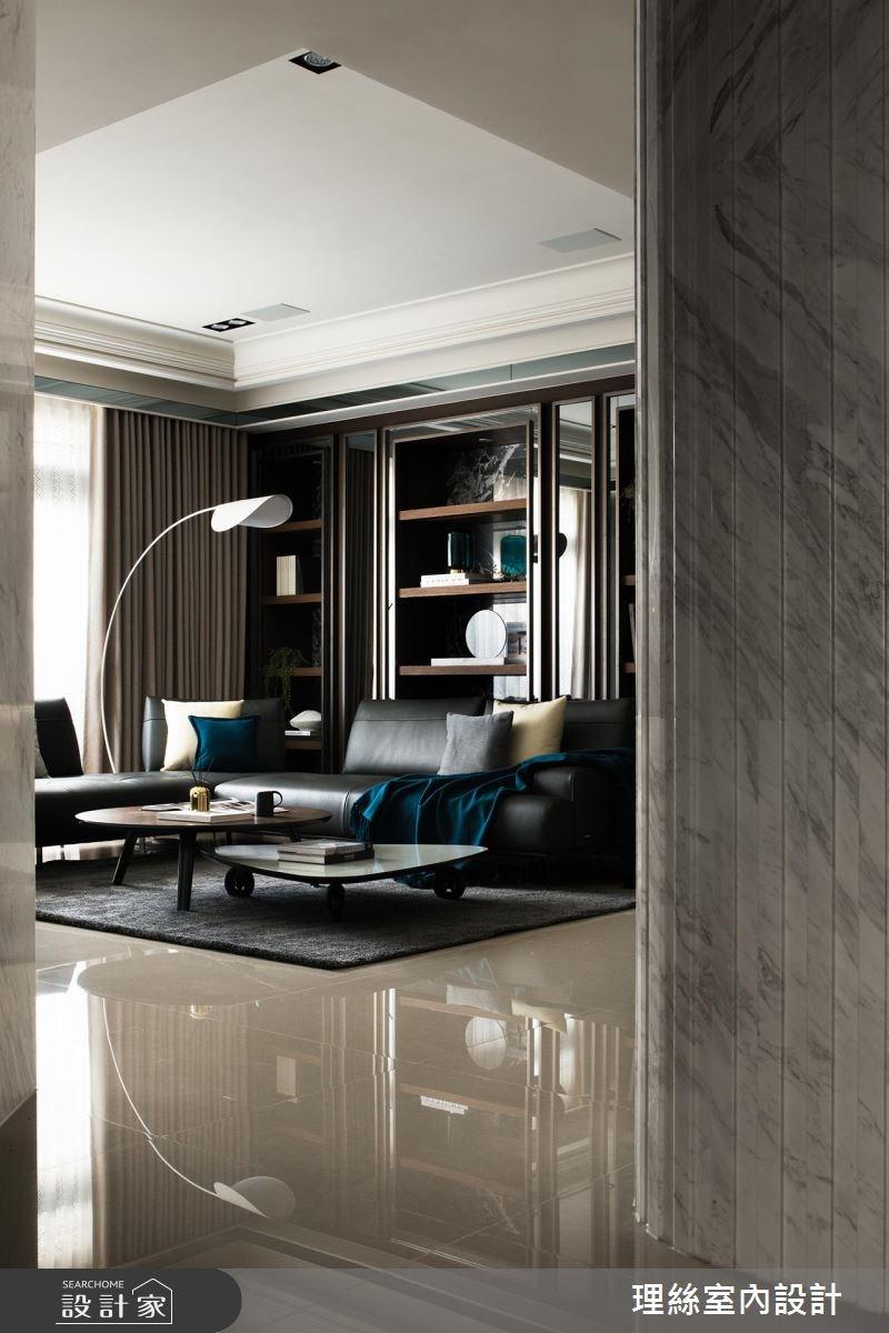 75坪新成屋(5年以下)_現代風客廳案例圖片_理絲室內設計有限公司_理絲_15之3