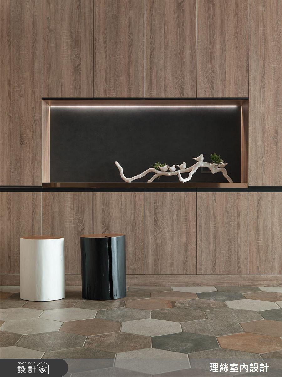 50坪新成屋(5年以下)_現代風玄關案例圖片_理絲室內設計有限公司_理絲_16之2