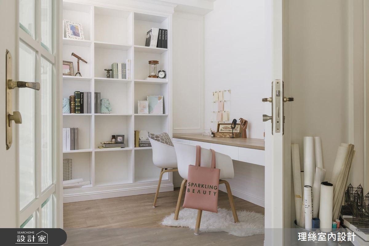 65坪預售屋_北歐風客廳書房案例圖片_理絲室內設計有限公司_理絲_18之8