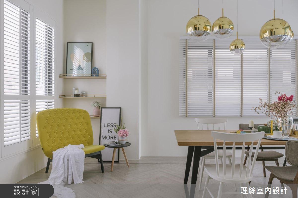 65坪預售屋_北歐風餐廳案例圖片_理絲室內設計有限公司_理絲_18之10