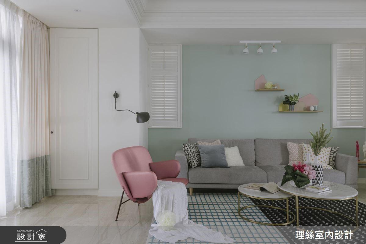 65坪預售屋_北歐風客廳案例圖片_理絲室內設計有限公司_理絲_18之3