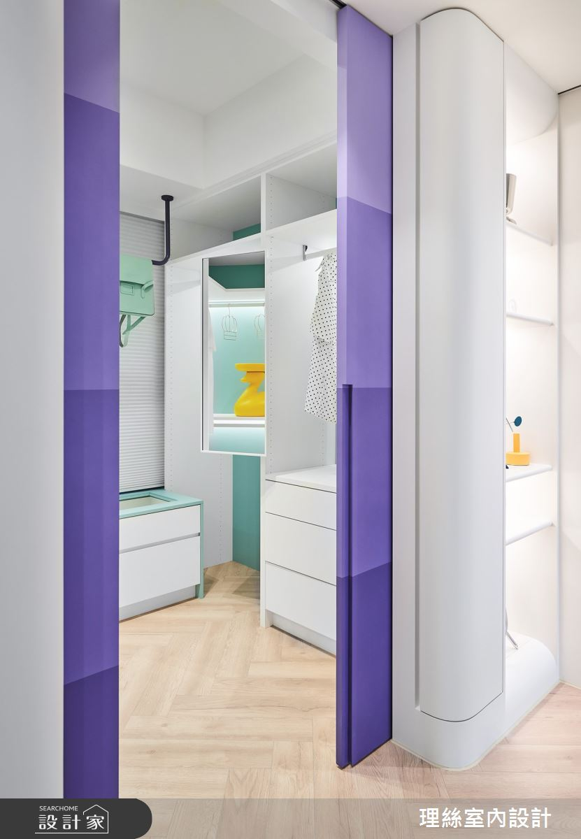 20坪新成屋(5年以下)_簡約風更衣間案例圖片_理絲室內設計有限公司_理絲_22之31