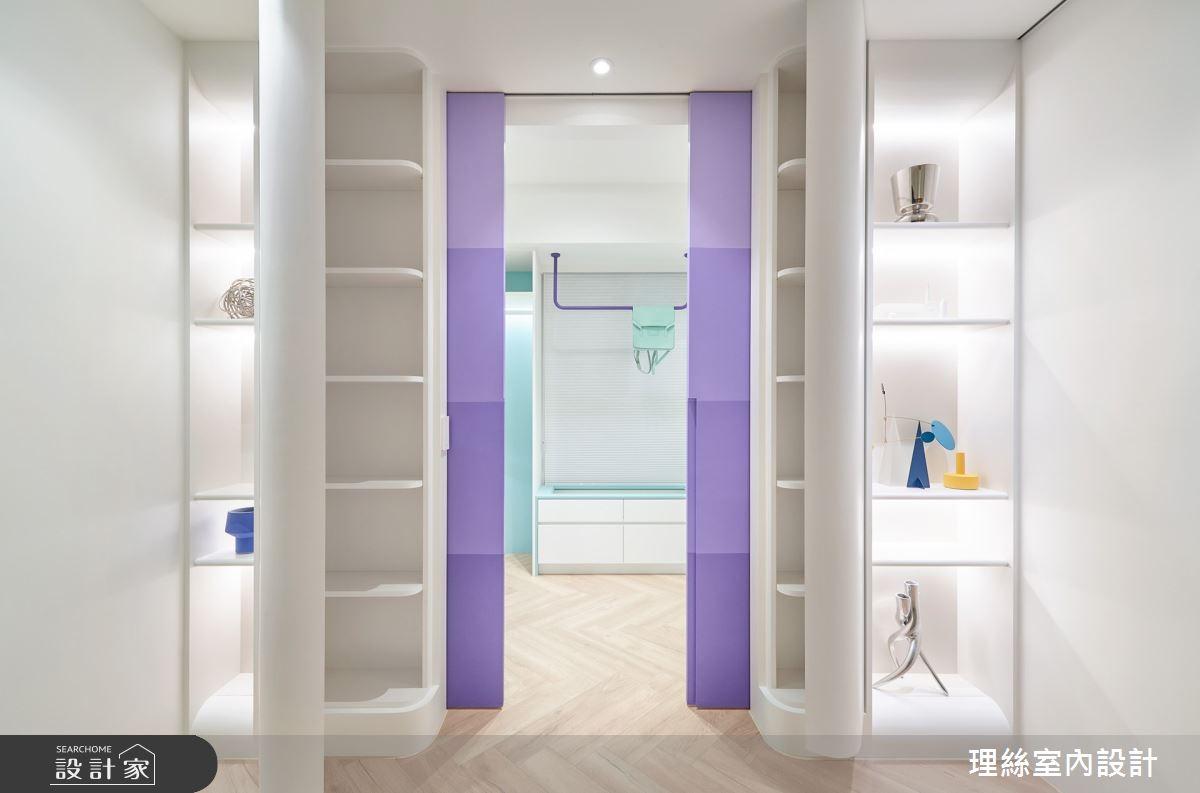 20坪新成屋(5年以下)_簡約風更衣間案例圖片_理絲室內設計有限公司_理絲_22之32