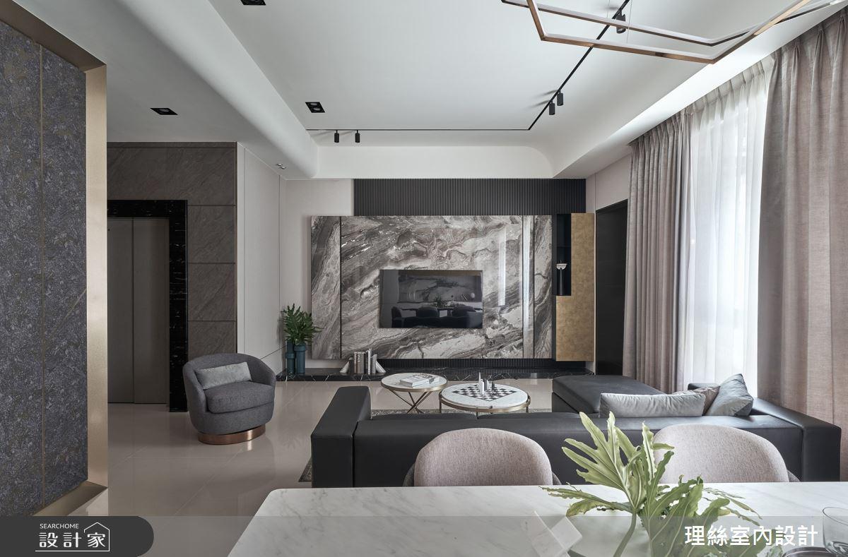 30坪新成屋(5年以下)_新中式風案例圖片_理絲室內設計有限公司_理絲_23之5