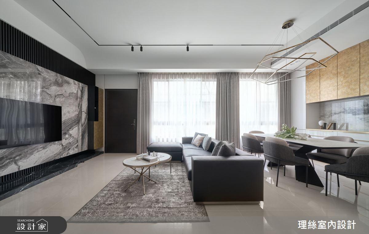 30坪新成屋(5年以下)_新中式風案例圖片_理絲室內設計有限公司_理絲_23之7