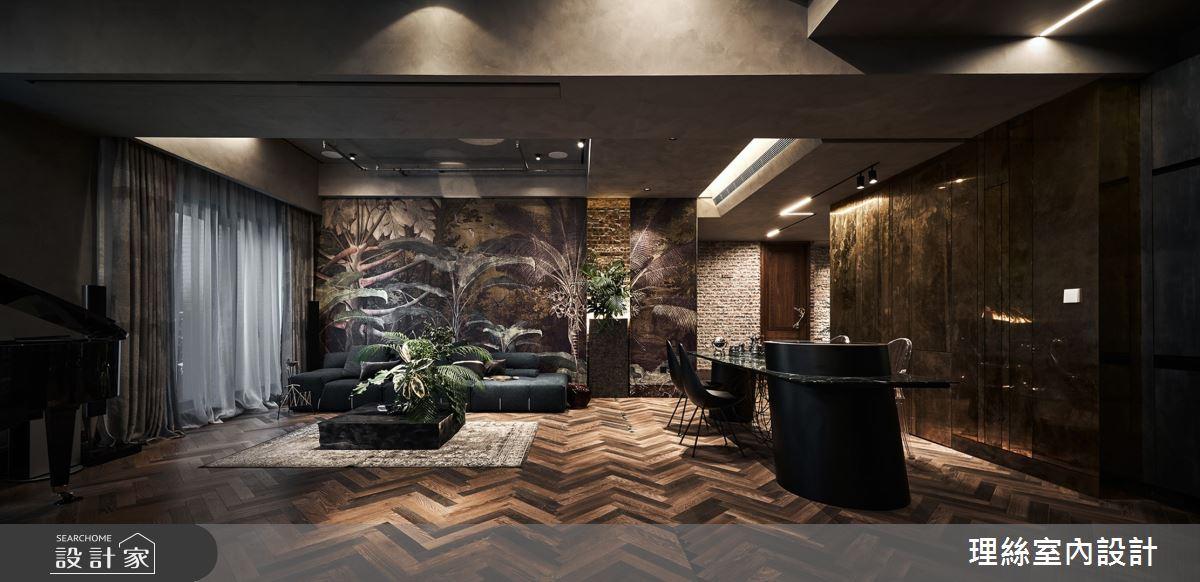 46坪中古屋(5~15年)_奢華風案例圖片_理絲室內設計有限公司_理絲_24之1