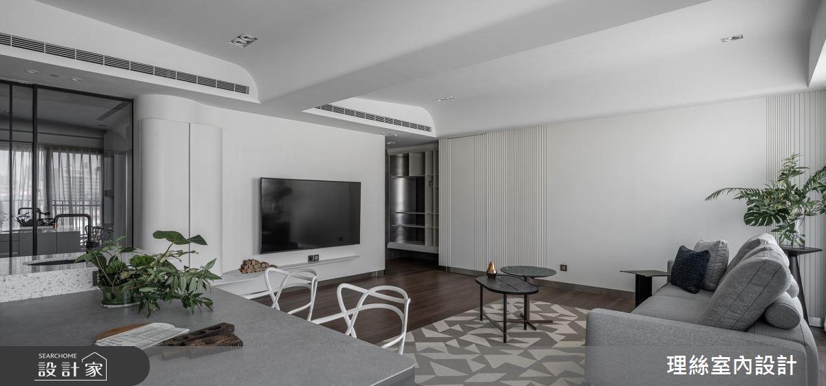 46坪預售屋_現代風客廳餐廳案例圖片_理絲室內設計有限公司_理絲_25之11