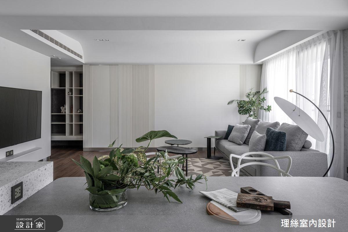 46坪預售屋_現代風客廳案例圖片_理絲室內設計有限公司_理絲_25之3