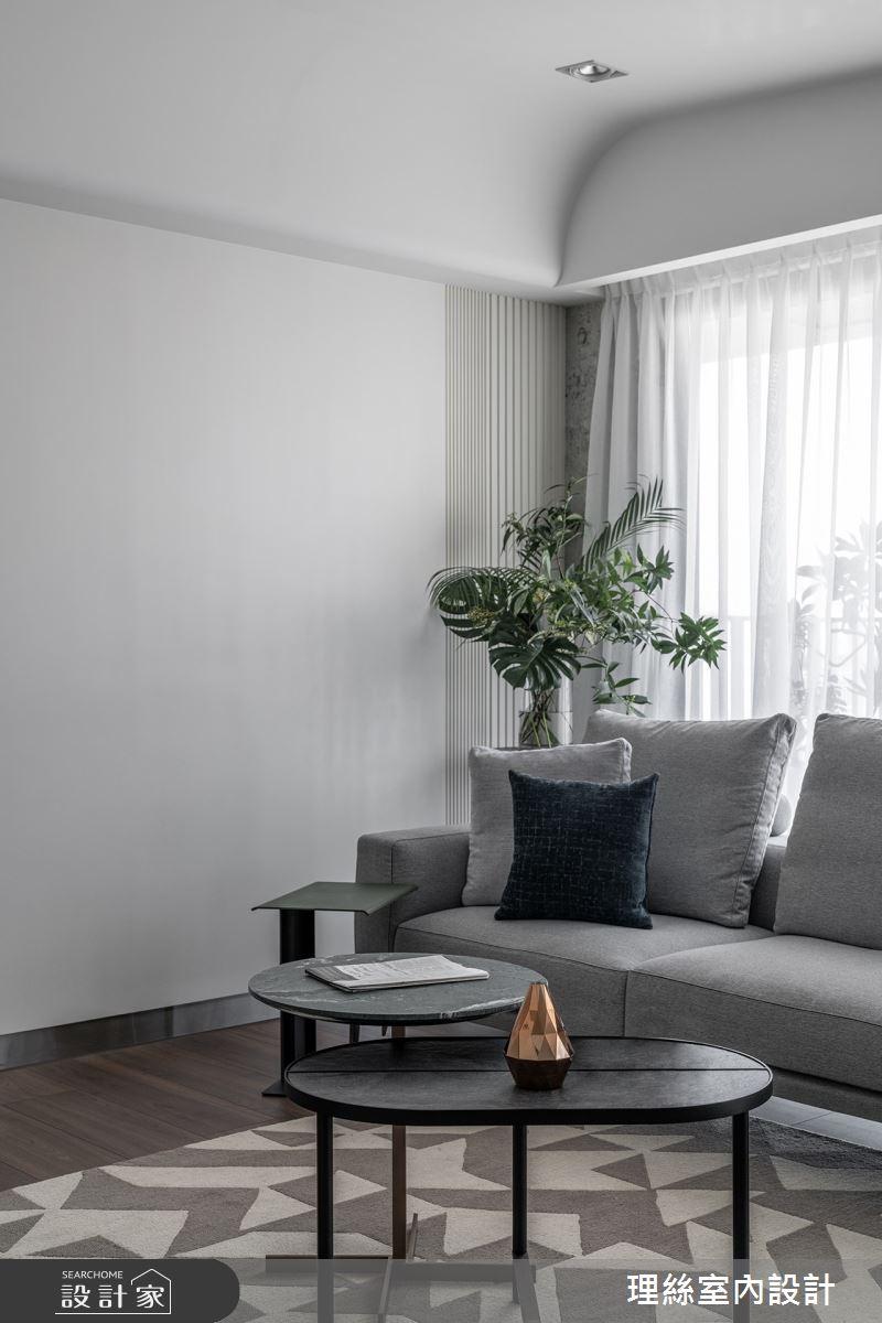 46坪預售屋_現代風客廳案例圖片_理絲室內設計有限公司_理絲_25之5