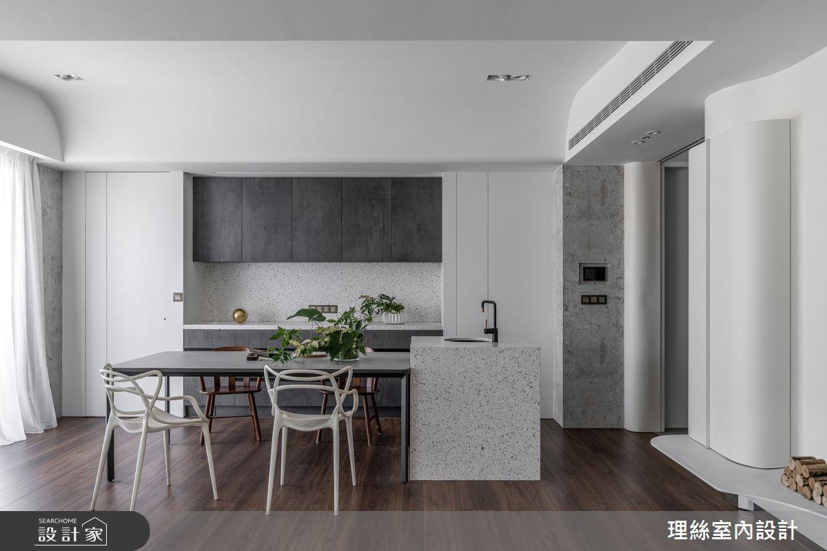 46坪預售屋_現代風餐廳案例圖片_理絲室內設計有限公司_理絲_25之14