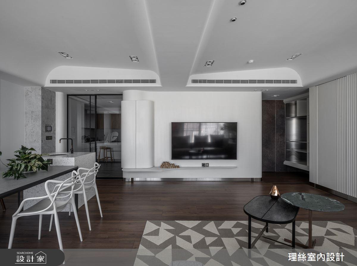 46坪預售屋_現代風客廳餐廳案例圖片_理絲室內設計有限公司_理絲_25之12