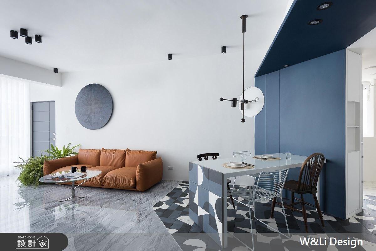 30坪老屋(16~30年)_混搭風客廳案例圖片_W&Li Design  十穎設計有限公司_十穎_02之4