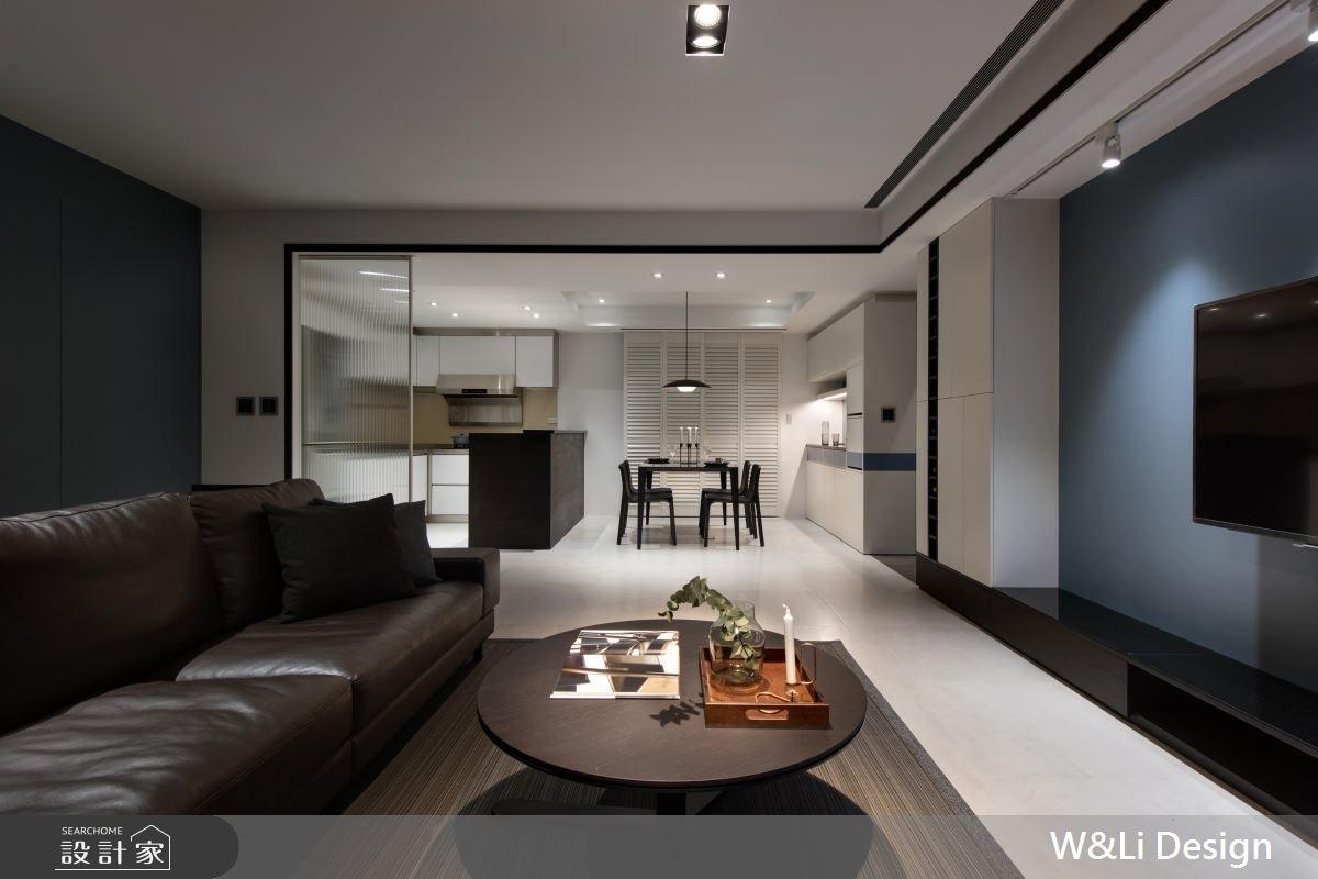 35坪新成屋(5年以下)_混搭風客廳案例圖片_W&Li Design  十穎設計有限公司_十穎_06之4