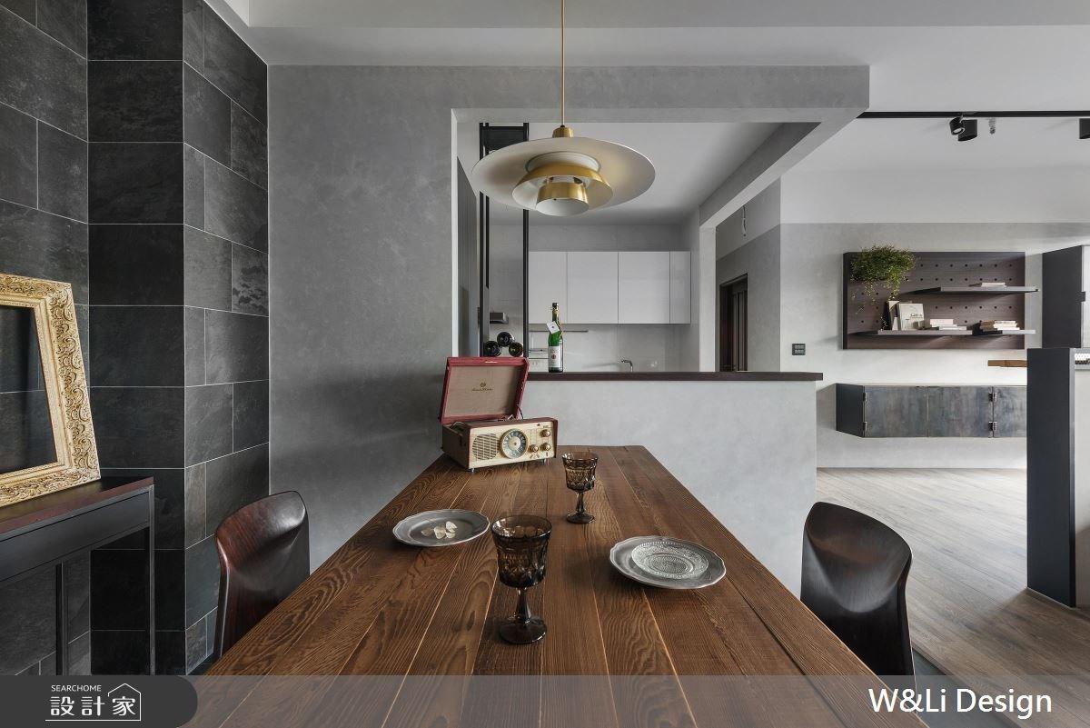 35坪新成屋(5年以下)_混搭風餐廳案例圖片_W&Li Design  十穎設計有限公司_十穎_07之2