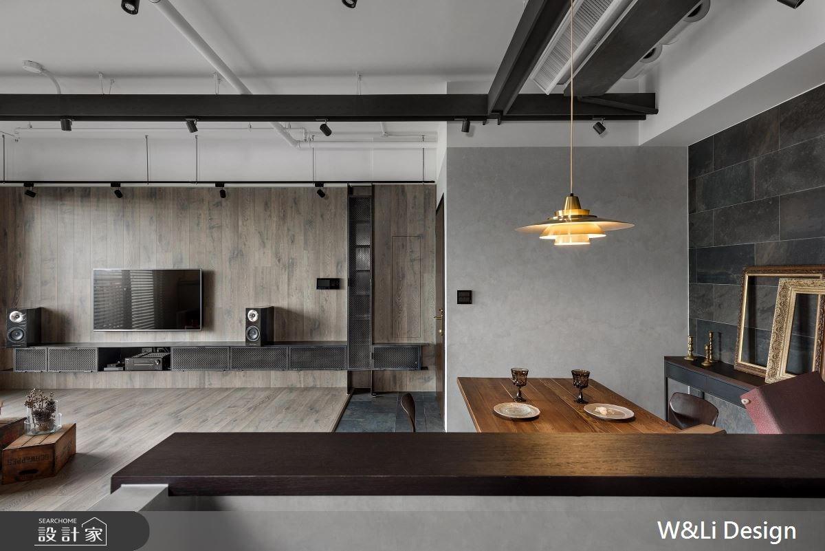 35坪新成屋(5年以下)_混搭風餐廳案例圖片_W&Li Design  十穎設計有限公司_十穎_07之4