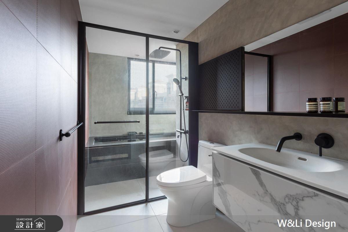 20坪中古屋(5~15年)_混搭風浴室案例圖片_W&Li Design  十穎設計有限公司_十穎_09之13