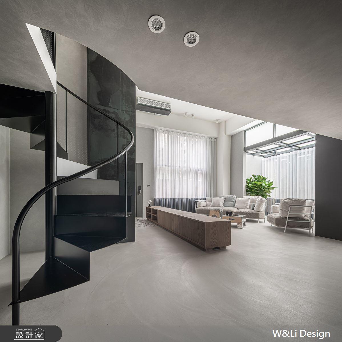 40坪老屋(16~30年)_現代風客廳案例圖片_W&Li Design  十穎設計有限公司_十穎_10之5