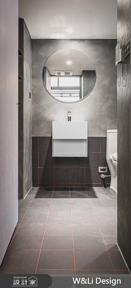 40坪老屋(16~30年)_現代風浴室案例圖片_W&Li Design  十穎設計有限公司_十穎_10之12