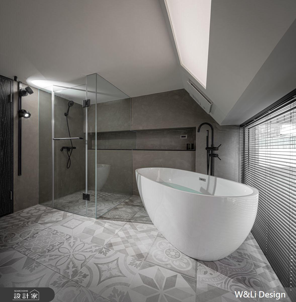 40坪老屋(16~30年)_現代風浴室案例圖片_W&Li Design  十穎設計有限公司_十穎_10之13