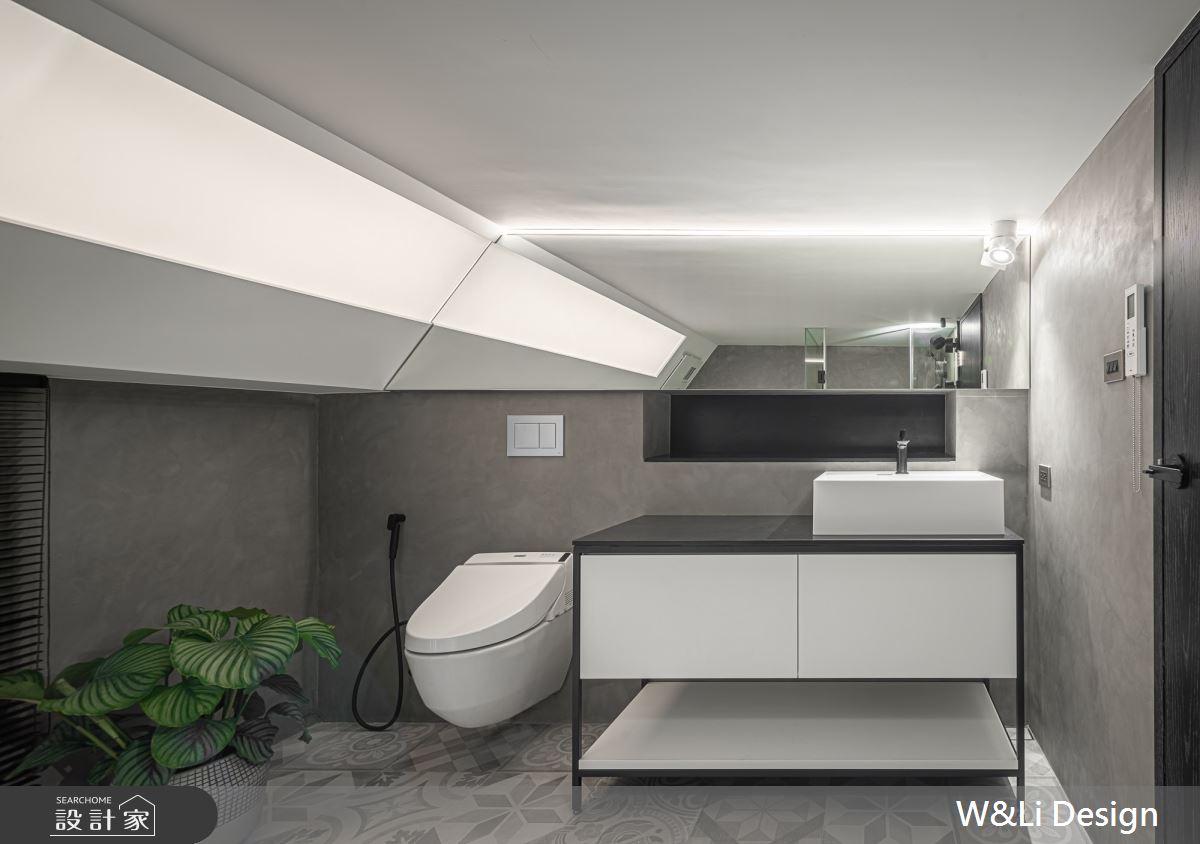 40坪老屋(16~30年)_現代風浴室案例圖片_W&Li Design  十穎設計有限公司_十穎_10之14