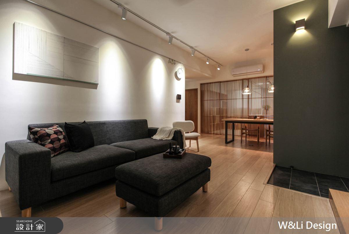 20坪新成屋(5年以下)_日式無印風客廳案例圖片_W&Li Design  十穎設計有限公司_十穎_11之3