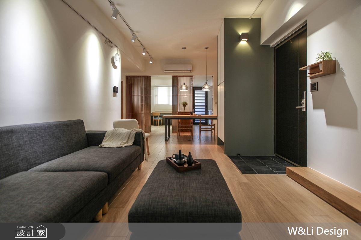 20坪新成屋(5年以下)_日式無印風客廳案例圖片_W&Li Design  十穎設計有限公司_十穎_11之2