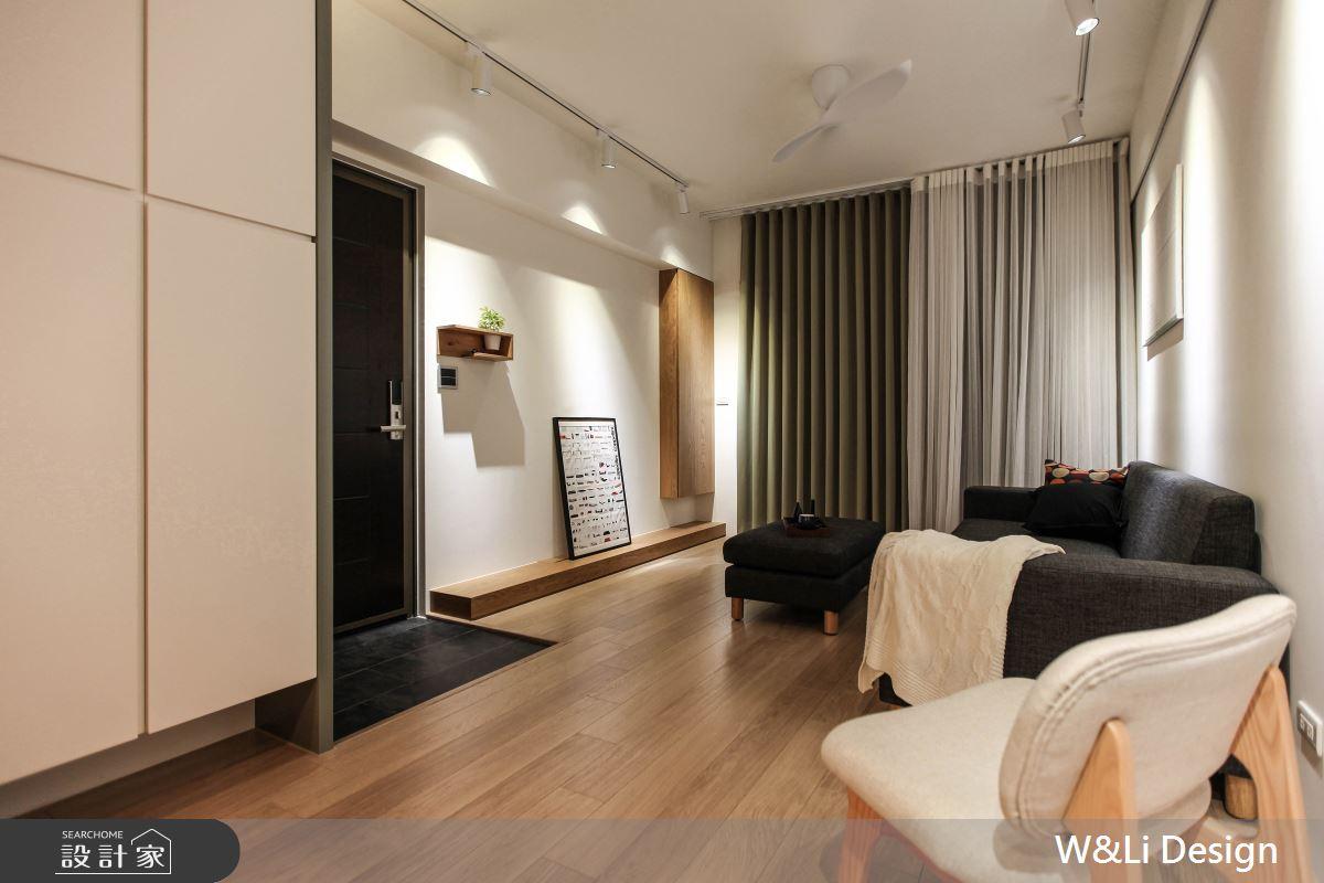 20坪新成屋(5年以下)_日式無印風客廳案例圖片_W&Li Design  十穎設計有限公司_十穎_11之4