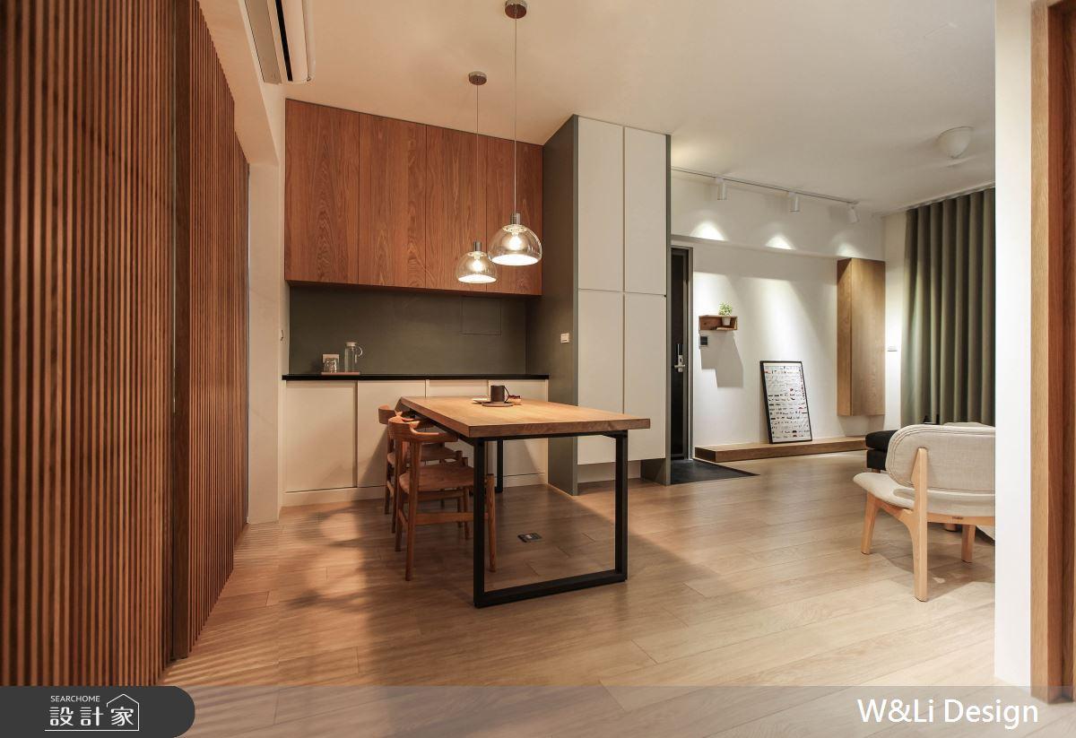 20坪新成屋(5年以下)_日式無印風餐廳案例圖片_W&Li Design  十穎設計有限公司_十穎_11之5