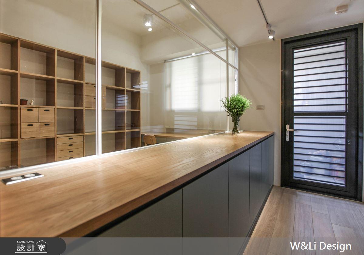 20坪新成屋(5年以下)_日式無印風書房案例圖片_W&Li Design  十穎設計有限公司_十穎_11之11