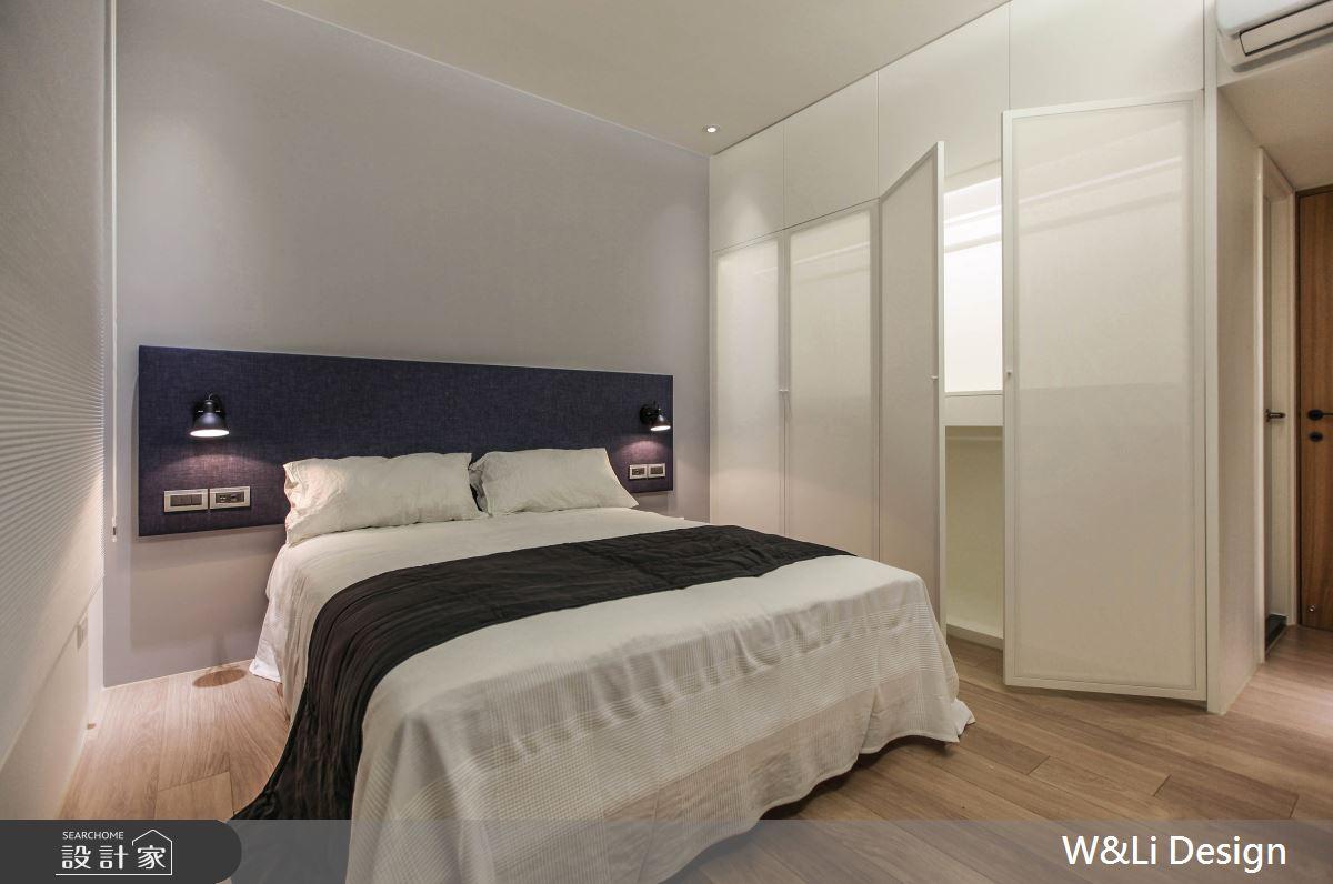 20坪新成屋(5年以下)_日式無印風臥室案例圖片_W&Li Design  十穎設計有限公司_十穎_11之13