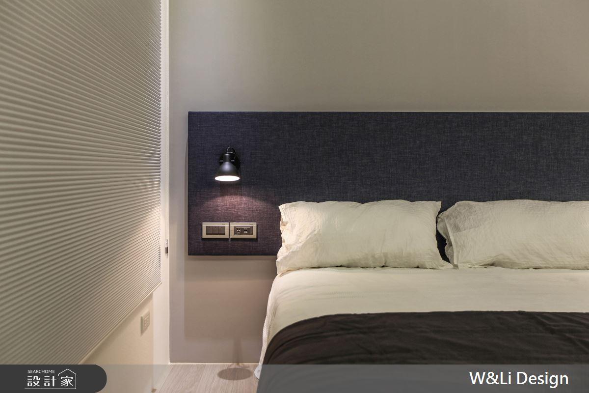 20坪新成屋(5年以下)_日式無印風臥室案例圖片_W&Li Design  十穎設計有限公司_十穎_11之14