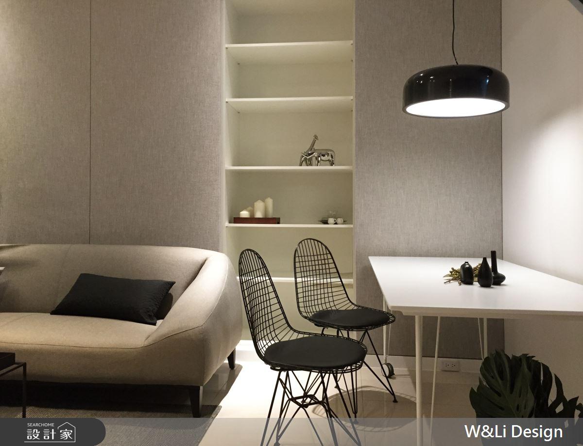 30坪新成屋(5年以下)_簡約風客廳餐廳案例圖片_W&Li Design  十穎設計有限公司_十穎_12之3