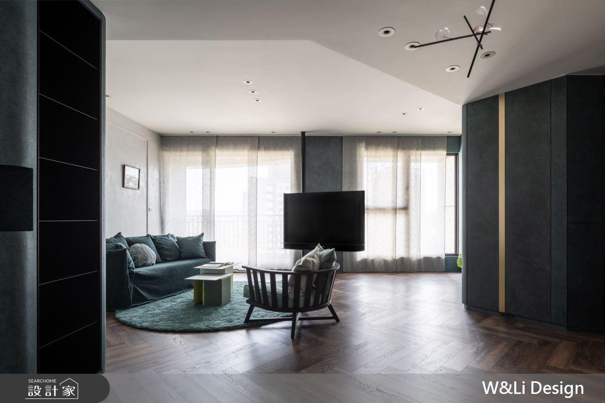 32坪新成屋(5年以下)_混搭風客廳案例圖片_W&Li Design  十穎設計有限公司_十穎_14之5