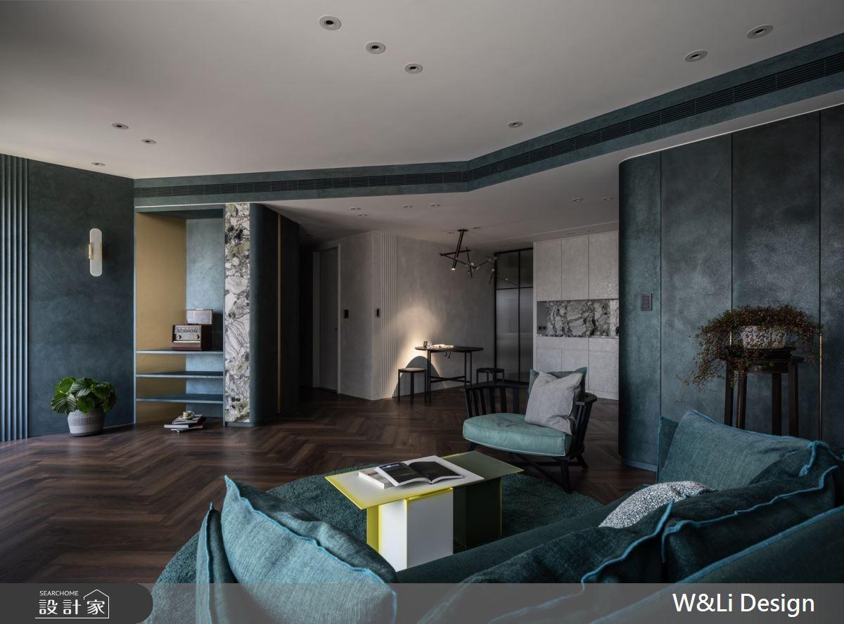32坪新成屋(5年以下)_混搭風客廳餐廳案例圖片_W&Li Design  十穎設計有限公司_十穎_14之8