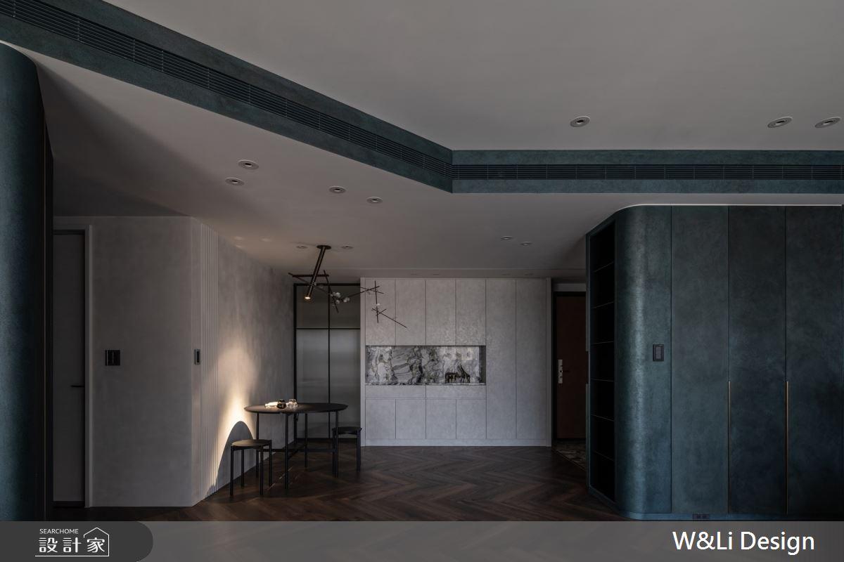 32坪新成屋(5年以下)_混搭風玄關餐廳案例圖片_W&Li Design  十穎設計有限公司_十穎_14之2