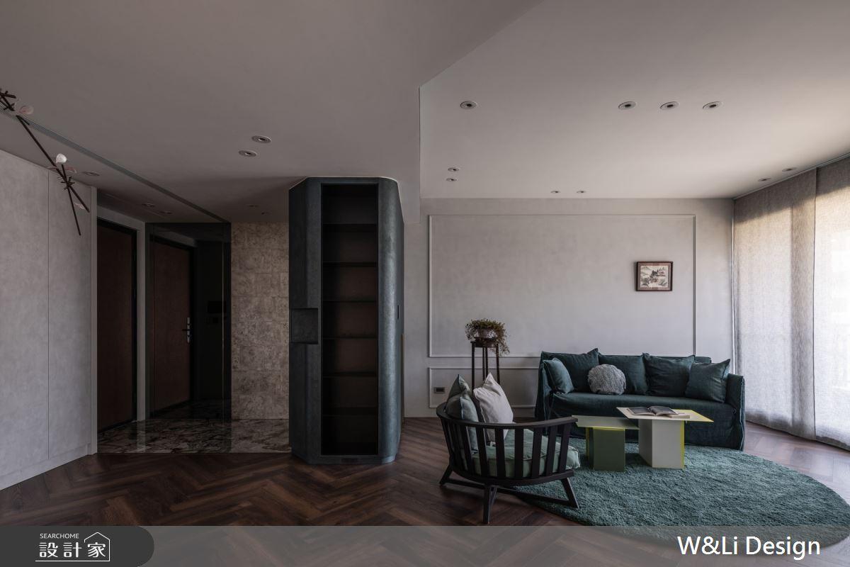 32坪新成屋(5年以下)_混搭風玄關客廳案例圖片_W&Li Design  十穎設計有限公司_十穎_14之3