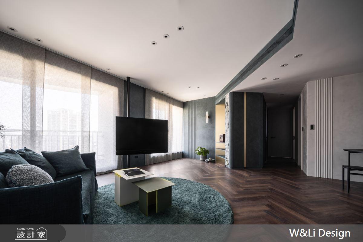 32坪新成屋(5年以下)_混搭風客廳走廊案例圖片_W&Li Design  十穎設計有限公司_十穎_14之6