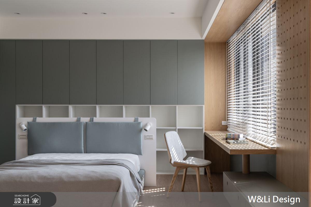96坪新成屋(5年以下)_日式無印風臥室案例圖片_W&Li Design  十穎設計有限公司_十穎_15之7