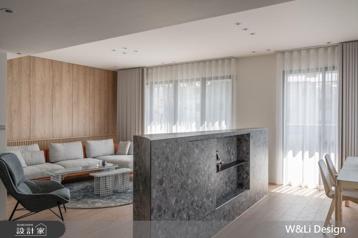 96坪新成屋(5年以下)_日式無印風客廳案例圖片_W&Li Design  十穎設計有限公司_十穎_15之2