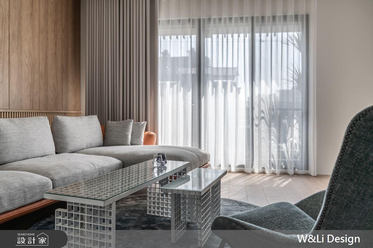 96坪新成屋(5年以下)_日式無印風客廳案例圖片_W&Li Design  十穎設計有限公司_十穎_15之3