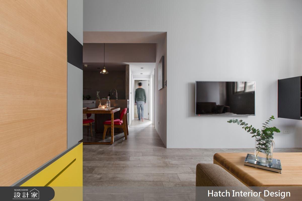 25坪老屋(16~30年)_現代風客廳案例圖片_合砌設計有限公司_合砌_純粹生活之3
