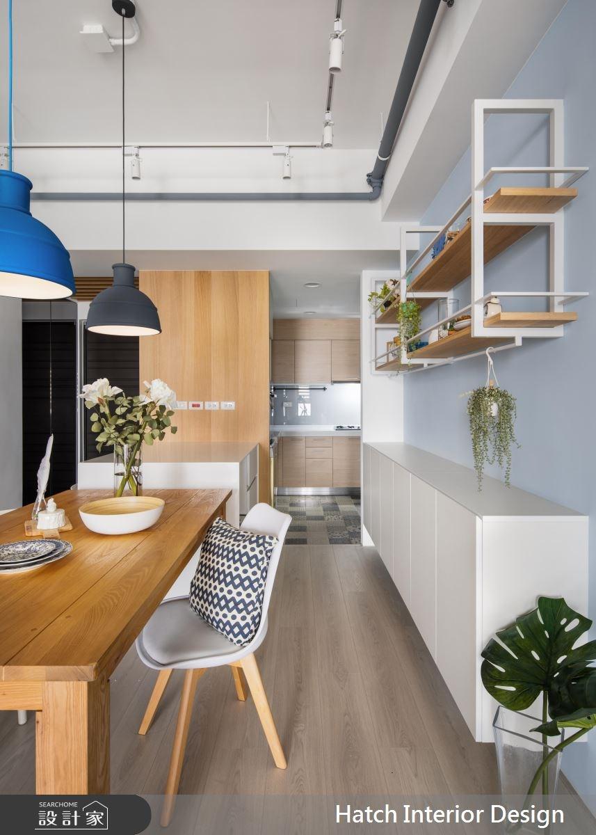 30坪新成屋(5年以下)_北歐風餐廳案例圖片_合砌設計有限公司_合砌_彩框之3