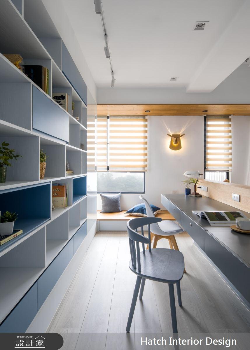 30坪新成屋(5年以下)_北歐風工作區案例圖片_合砌設計有限公司_合砌_彩框之4