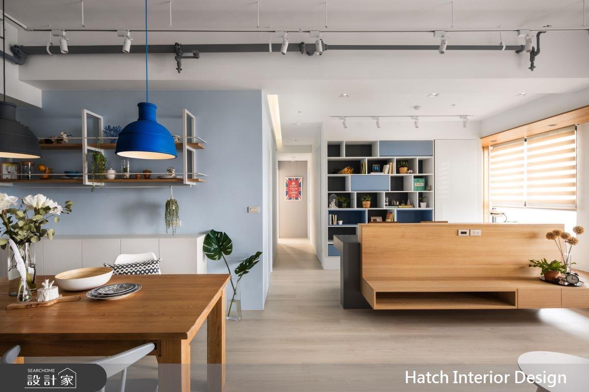 30坪新成屋(5年以下)_北歐風客廳案例圖片_合砌設計有限公司_合砌_彩框之5