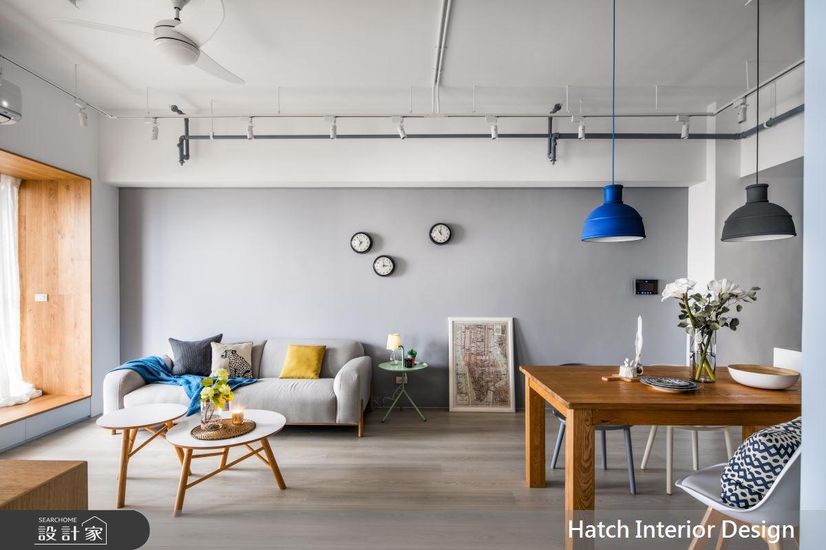 30坪新成屋(5年以下)_北歐風客廳案例圖片_合砌設計有限公司_合砌_彩框之7