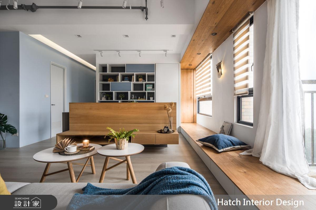 30坪新成屋(5年以下)_北歐風客廳案例圖片_合砌設計有限公司_合砌_彩框之9
