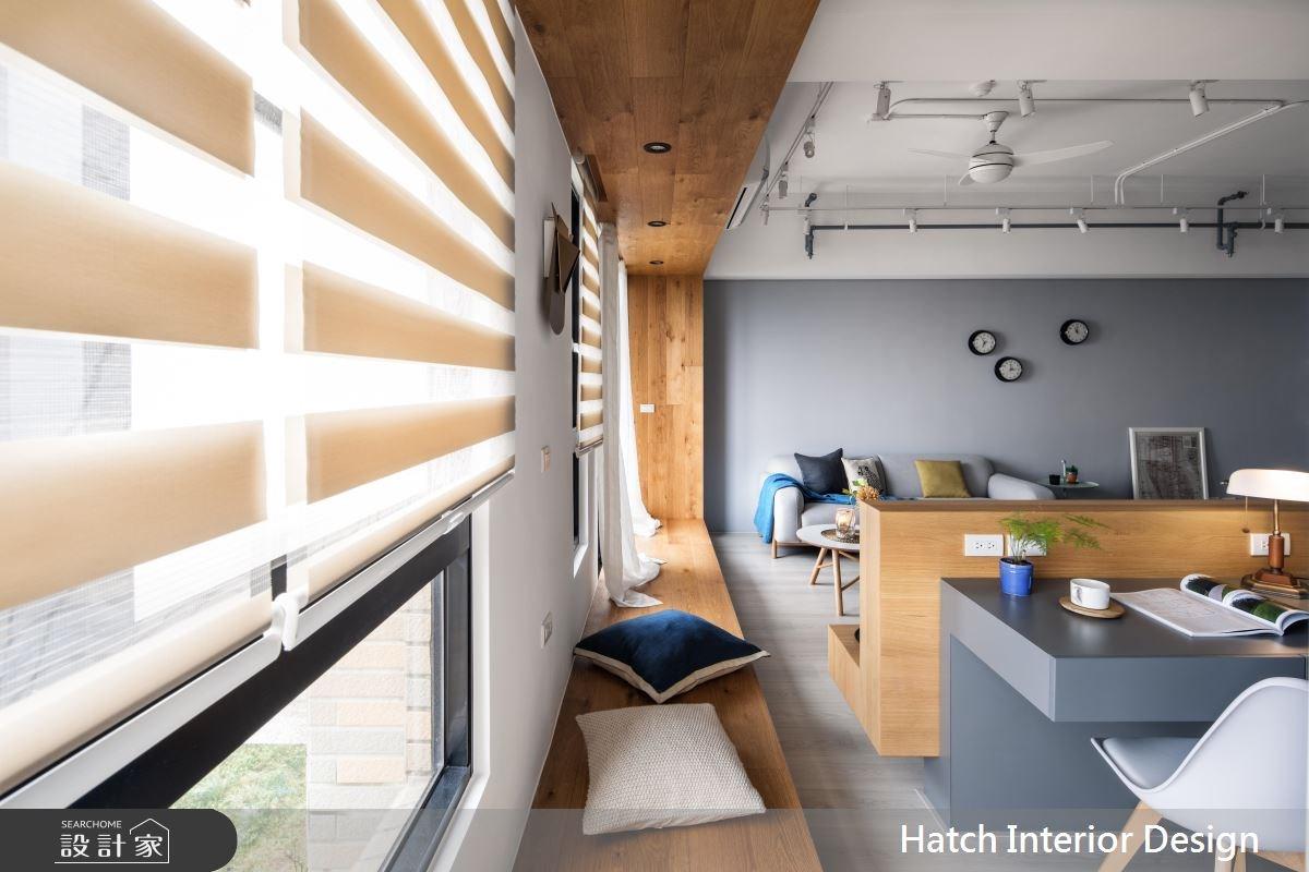 30坪新成屋(5年以下)_北歐風客廳案例圖片_合砌設計有限公司_合砌_彩框之10