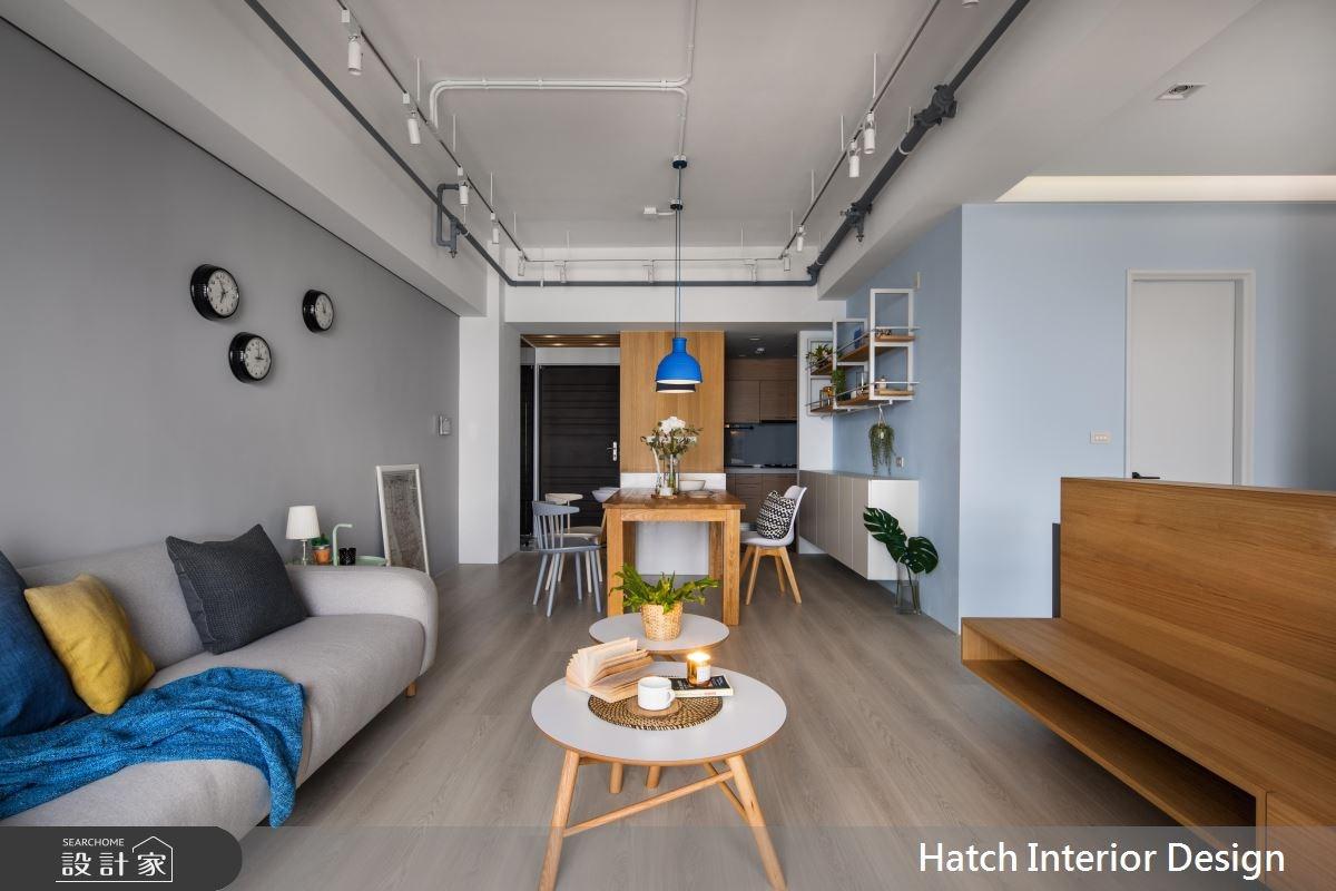 30坪新成屋(5年以下)_北歐風客廳案例圖片_合砌設計有限公司_合砌_彩框之11